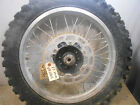 87 honda xr250r xr 250 r rear wheel and tire 3347