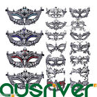 Metal Iron Art Face Party Mask Costume Ball Cosplay Venetian Princess Carnival