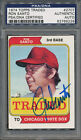 1974 Topps Traded #270T Ron Santo PSA DNA Certified Authentic Auto *6228