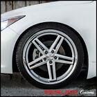 20 CONCEPT ONE CS55 SILVER CONCAVE WHEELS RIMS FITS NISSAN 350Z 370Z