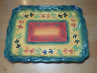 Tabletops Unlimited Gallery LA PROVINCE 16 in Rectangular Platter Tray