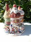 RARE 1992 FITZ & FLOYD NUTCRACKER SWEETS COLLECTIBLE LARGE COOKIE JAR