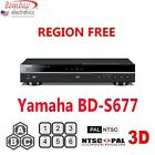Yamaha BD-S677 Region A and All Region DVD Blu-ray disc Player - 3D Support - Wi