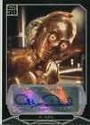 Star Wars 30th Anniversary Autograph Card Anthony Daniels