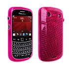 OEM Verizon High Gloss Silicone Cover Case for BlackBerry Bold 9900 9930 Pink