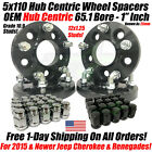 4 Wheel Spacers Adapters  5x110 to 5x1143  12x15  1 INCH Chevy Jeep Saturn