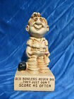 1970 Paula Figurine Old Bowlers Never Die They Just Dont Score As O