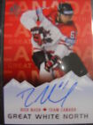 2015-16 Sp Authentic Great White North Rick Nash Auto Card# GWN-RN
