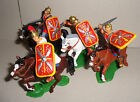 Mounted ROMANS Red tunics Red Shields ARGENTINA DSG Plastic Soldiers Britains