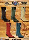 Wild West Mens XXX Toe Caiman Tail Cowboy Western Boots DiffColors