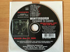 WINTERBORN ~'FAREWELL TO SAINTS'~RARE GERMAN PROMO ONLY CD 2009~METAL~NEW