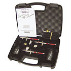 SATAgraph 4 3 Auto AirBrush Brushing Paint Gun Kit with Hose  Fittings S004HBS