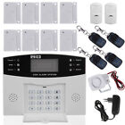 LCD Wireless GSM SMS Autodial Burglar Security Alarm System DIY Kit Sensor Siren