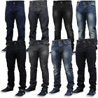 mens Emporio Seven denim jeans pants faded slim fit trousers designer bottoms