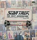 Star Trek TNG Portfolio Prints Series 1 & 2 Sealed Boxes with 6 autograph cards