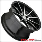 22 AVANT GARDE AG M652 BLACK MACHINED CONCAVE WHEELS RIMS FITS INFINITI FX35
