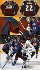 2008-09 Colorado Avalanche Scott Hannan Photo Matched Game Worn Used Home Jersey