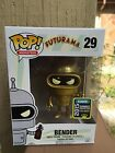 GOLD BENDER FUTURAMA FUNKO POP! ANIMATION #29 VINYL FIGURE SDCC EXCLUSIVE
