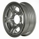 60175 Refinished OEM Wheel Steel Fits 1999 1999 Chevrolet Tracker Silver Painted