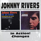 Johnny Rivers in Action!/Changes by Johnny Rivers (Pop) (CD, Jun-1998, Bgo)