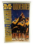 1990s Costacos University of Michigan UM Wolverines Basketball Poster 23x35