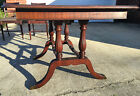Antique Mahogany Dining Table Chairs Duncan Phyfe Hand Painted