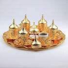 New 27 Pieces Turkish Arabic Coffee Espresso Serving Cups Saucers Set