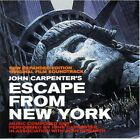 Various Artists Joh Escape from New York Original Soundtrack New CD