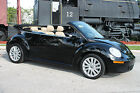 Volkswagen Beetle Classic SE Convertible Import 4 seater Sports Car 2008 volkswagen beetle se convertible fla kept lowest mileage in the usa