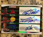 Dominique Wilkins Vince Carter Josh Smith 07 08 Triple Threads Auto Jersey 2 18