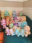 Vintage 1980s Lot Of Plush Care Bears and Cousins 25 Total