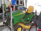 John Deere GT235 48 Lawn Tractor w ON BOARD GENERATOR ELECTRICAL OUTLET