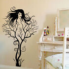 1x Sexy Girl Tree Removable Wall Sticker Decal Home Decor Vinyl Mural Art SWE