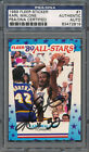 1989 90 Fleer Sticker #1 Karl Malone PSA DNA Certified Authentic Auto *2819