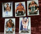 2015 Topps WWE Undisputed CARD AUTOGRAPH AUTO LOT ITAMI BROCK LESNAR STRATUS USO