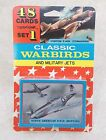 Aircraft Aviation Trading Cards CLASSIC WARBIRDS & MILITARY JETS Set 1 (0505-10)