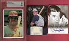PETE ROSE REDS CERTIFIED AUTOGRAPH AUTO + GAME USED JERSEY +1976 SSPC BGS MINT 9