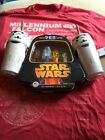 ����Star Wars Lot Rare Limited Edition Pez Shirt And 2 Storm Trooper Tumblers