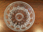 Beautiful Crystal / Clear Cut Glass Serving Bowl - 8 1/2