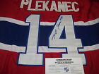 new thomas plekanec jersey signed montreal canadiens jersey