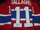 new gallagher jersey signed montreal canadiens jersey