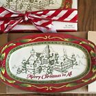 FITZ AND FLOYD ST. NICK SENTIMENT TRAY 10