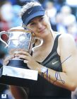 Maria Sharapova Signed Autographed 11X14 Photo French Open Trophy GV801986