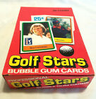 1981 DONRUSS GOLF STARS BOX w 36 factory sealed packs JACK NICKLAUS ROOKIE