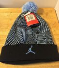 Nike Air Jordan Beanie Hat XI Sneaker Black/Legend Blue 631681-012 New With Tags