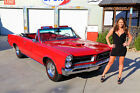 Pontiac GTO 1965 pontiac gto convertible phs documented 389 tri power ps pdb factory air car