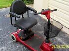 Invacare Lynx LX-3 red mobility scooter