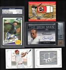 HUGE PATCH AUTO GAME USED JERSEY KEN GRIFFEY AUTO PUJOLS CAL RIPKEN AUTO (550)