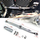 Chrome Skull Shift Link Linkage Arm for Harley Heritage Softail Electra Glide