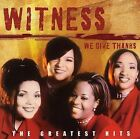 Audio CD Greatest Hits  - Witness VeryGood
